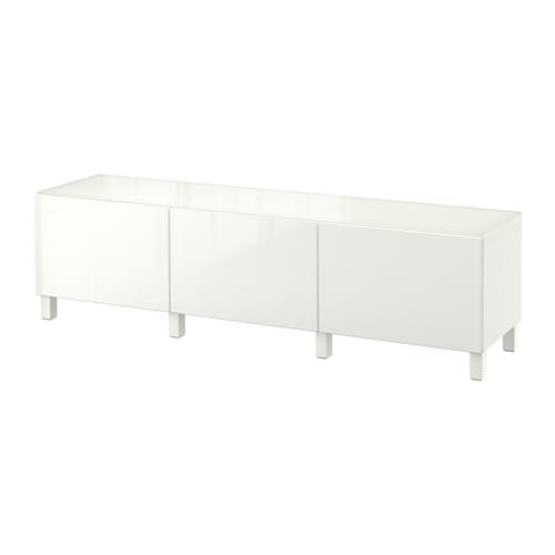 best storage combination with drawers white selsviken high gloss white drawer runner soft. Black Bedroom Furniture Sets. Home Design Ideas