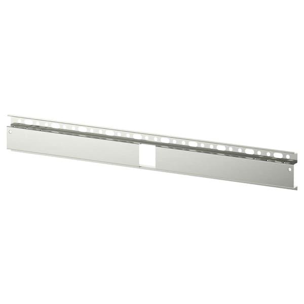 "BESTÅ Suspension rail, silver color, 23 5/8 """