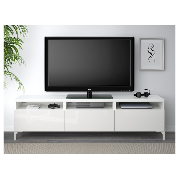 BestÅ Tv Unit With Drawers White
