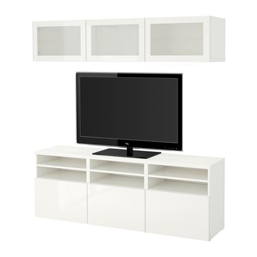 Merveilleux BESTÅ TV Storage Combination/glass Doors