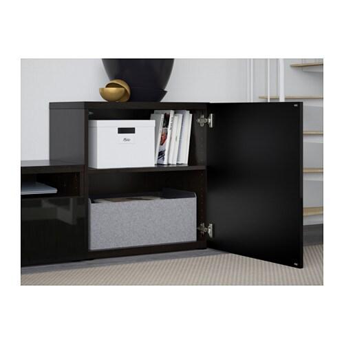 best tv storage doors clear glass drawer runner pushopen ikea
