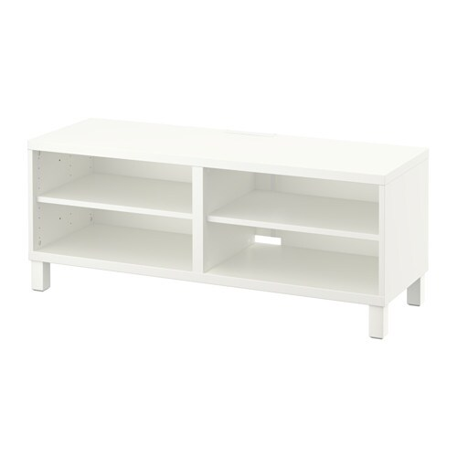 Best tv unit white ikea for Mobiletti tv ikea