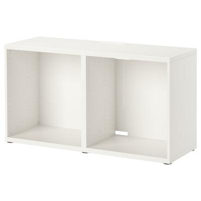 "BESTÅ TV unit, white, 47 1/4x15 3/4x25 1/4 """