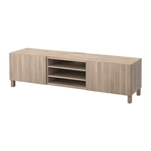best tv unit with drawers lappviken walnut effect light gray 70 7 8x15 3 4x18 7 8 drawer. Black Bedroom Furniture Sets. Home Design Ideas