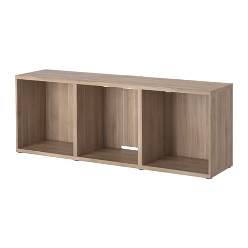 best tv unit walnut effect light gray ikea. Black Bedroom Furniture Sets. Home Design Ideas