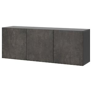 Color: Black-brown/kallviken concrete effect.