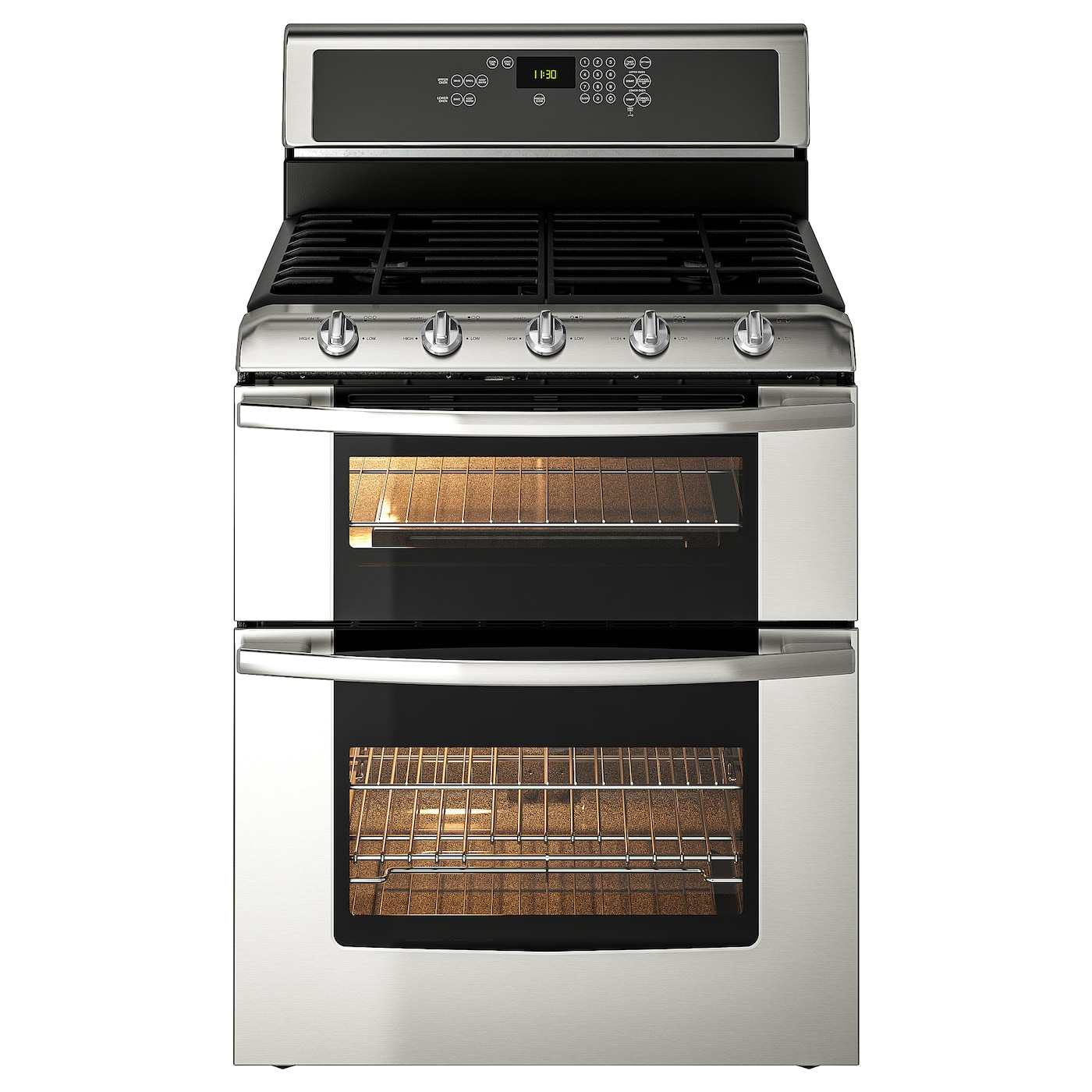 Betrodd Range W Double Oven And Gas
