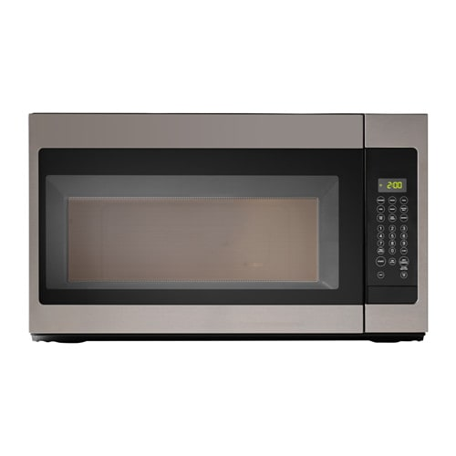 Betrodd microwave oven with extractor fan ikea for Who makes ikea microwaves