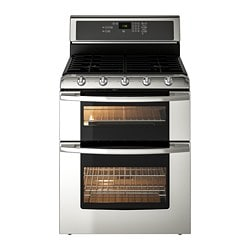 BETRODD Range w/double oven and gas cooktop $1,199.00