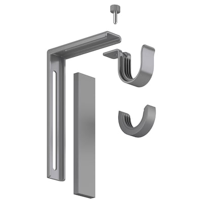BETYDLIG wall/ceiling bracket silver color 22 lb