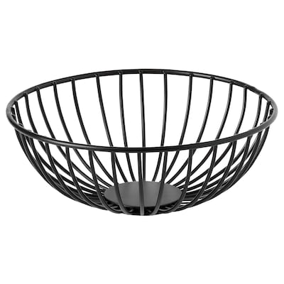 BETYGA Decorative bowl, black, 8 ""