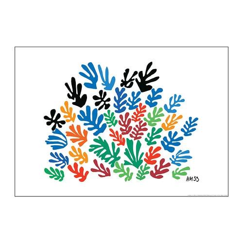 BILD Poster IKEA Motif created by Henri Matisse.