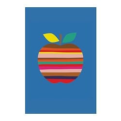 BILD poster, Colorful apple