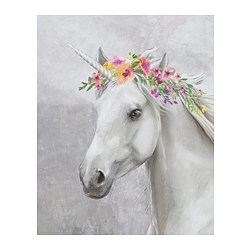 BILD poster, Flower unicorn