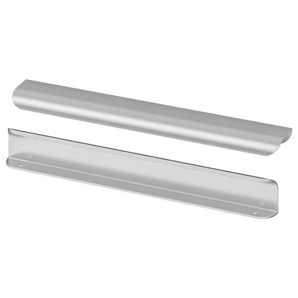 "BILLSBRO Handle, stainless steel color, 12 """