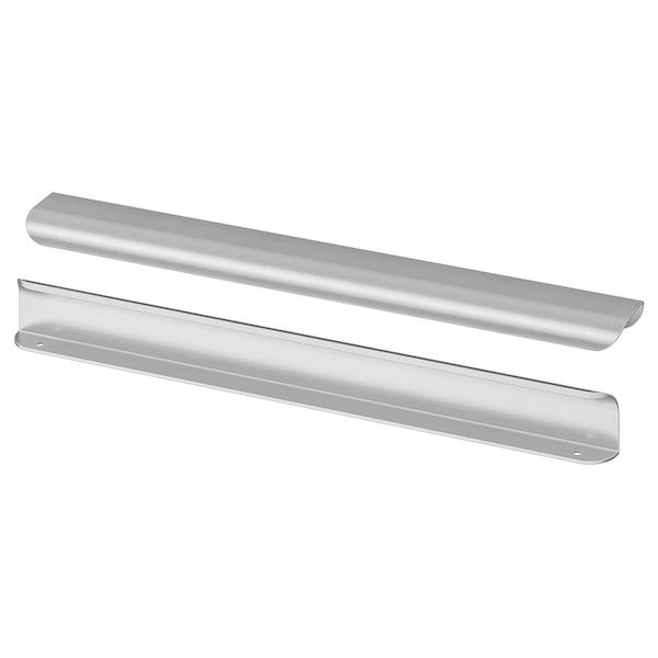 "BILLSBRO Handle, stainless steel color, 15 """