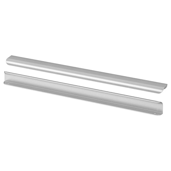 "BILLSBRO Handle, stainless steel color, 21 """