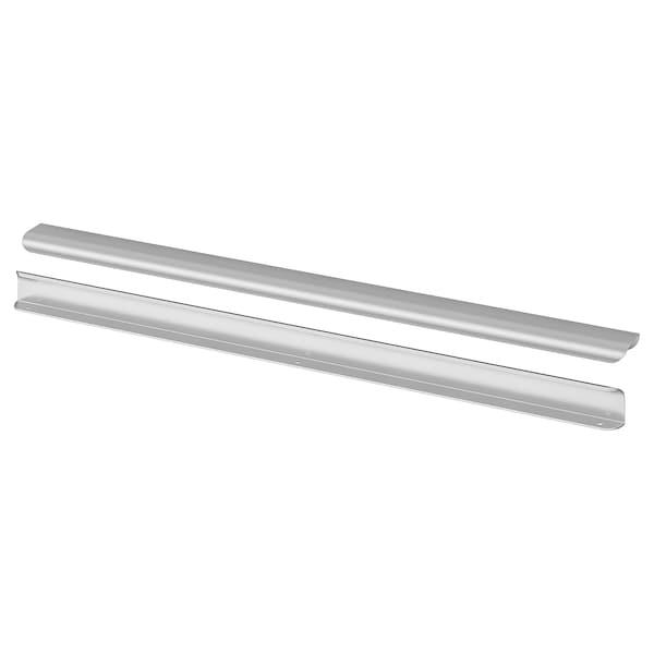 "BILLSBRO Handle, stainless steel color, 27 """