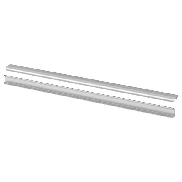 "BILLSBRO Handle, stainless steel color, 33 """