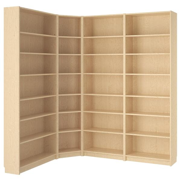 "BILLY Bookcase, birch veneer, 84 5/8/53 1/8x11x93 1/4 """