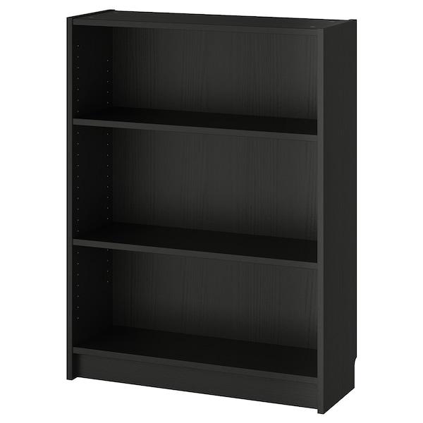 "BILLY Bookcase, black-brown, 31 1/2x11x41 3/4 """