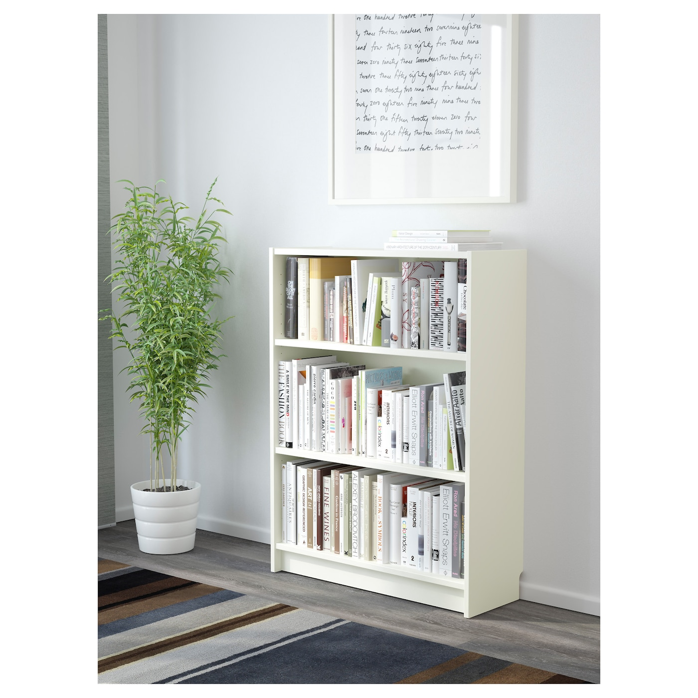 Ikea Billy White Bookcase Bookcases Home Kitchen