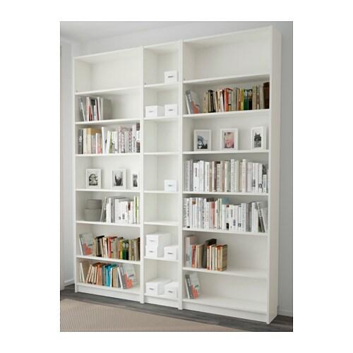 - BILLY Bookcase - White, 200x237x28 Cm - IKEA