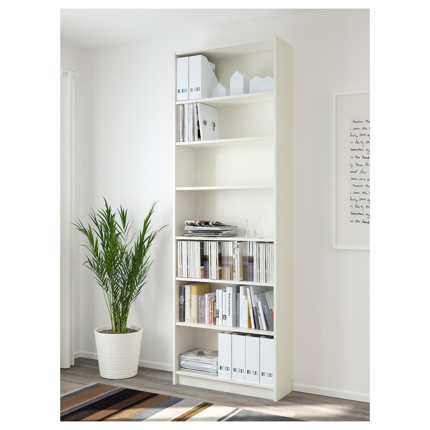 BILLY Bookcase   white 200 200/20x200200x20 200/20