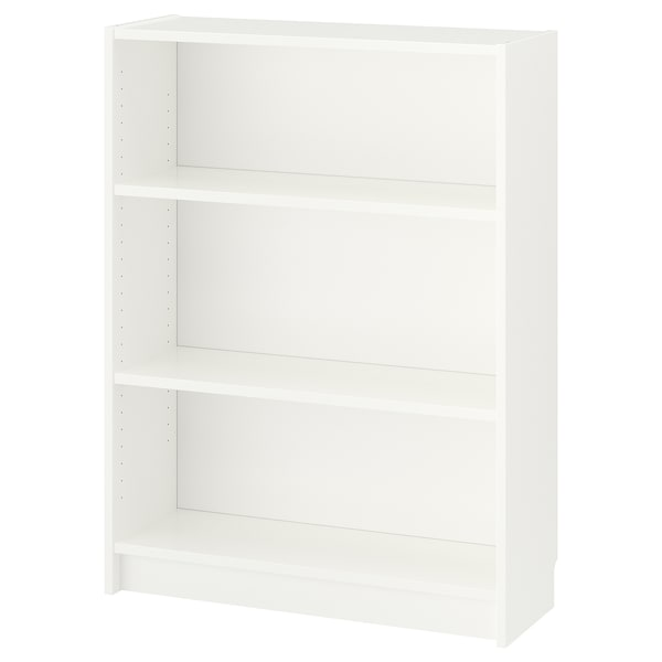 BILLY Bookcase, white, 31 1/2x11x41 3/4 ""