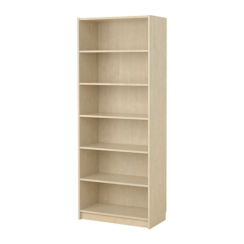 BILLY Bookcase IKEA Deep shelves accommodate large books.  Adjustable shelves can be arranged according to your needs.