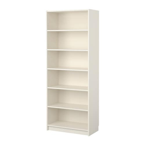 BILLY Bookcase IKEA There is plenty of storage space for large books or other objects on the deep shelf.