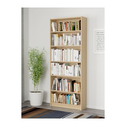 BILLY Bookcase IKEA Adjustable shelves can be arranged according to your needs.