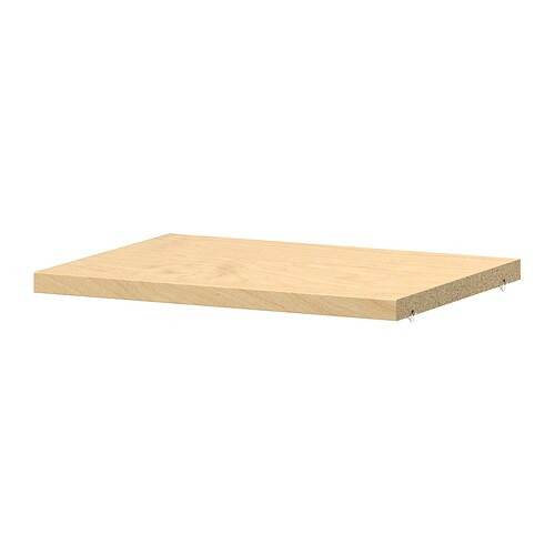 Billy extra shelf birch veneer ikea for Etagere 50 cm de large