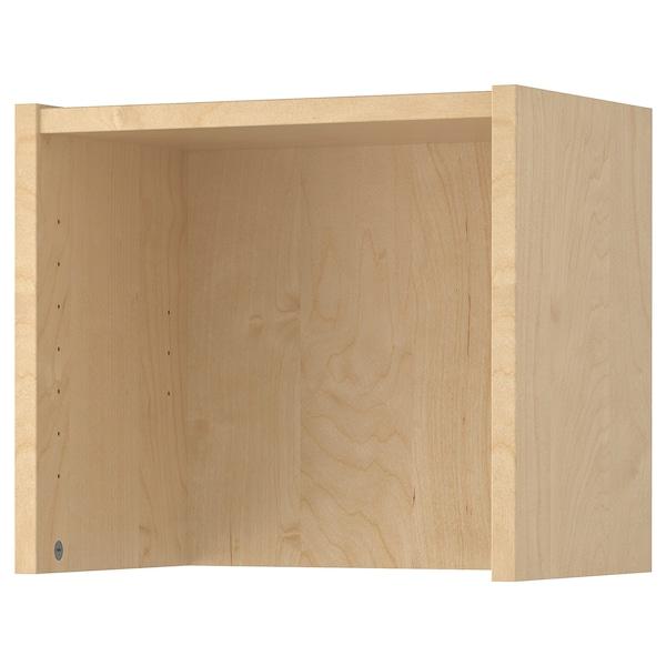 "BILLY Height extension unit, birch veneer, 16x11x14 """