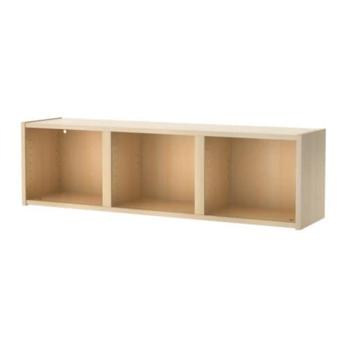 BILLY Wall shelf IKEA Small wall shelves help you utilize small wall spaces, e.  g.   above windows and doors.