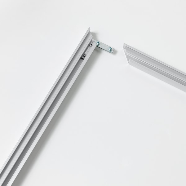 """BJÖRKSTA Frame, aluminum color, 55x39 ¼ """""""