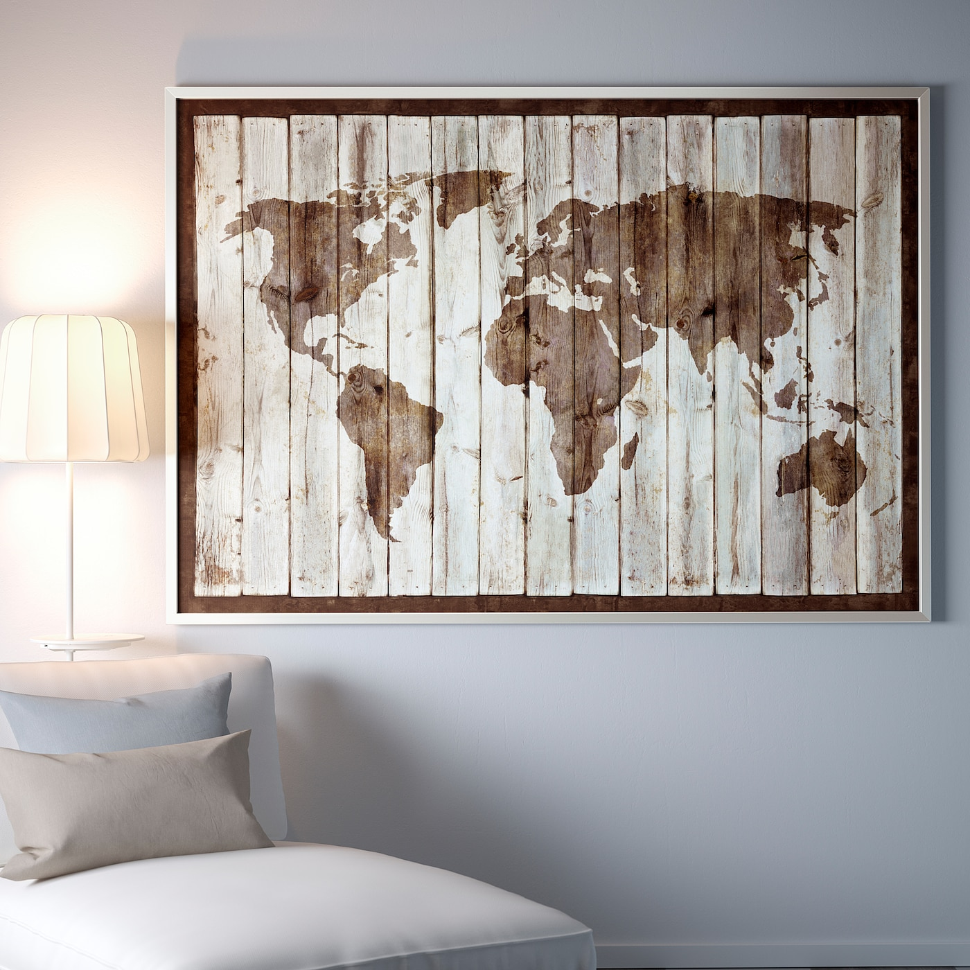 """IKEA BJORKSTA Picture And Frame 78 ¾x55 /"""""""