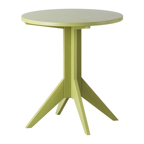 Bj rksn s coffee table ikea for Ikea green side table