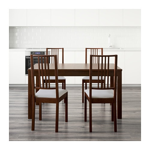 BJURSTA BRJE Table and 4 chairs IKEA