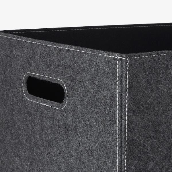 """BLÄDDRA Box, gray, 13x15x13 """""""