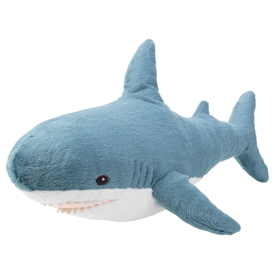 "BLÅHAJ soft toy shark 21 ¾ """