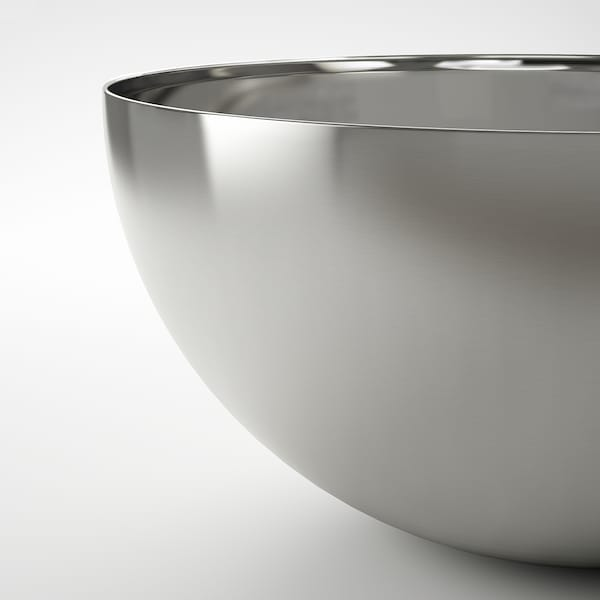 """BLANDA BLANK Serving bowl, stainless steel, 14 """""""