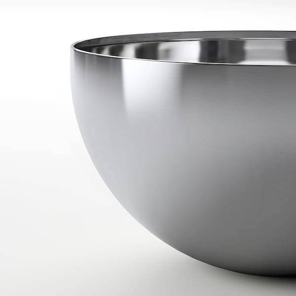 BLANDA BLANK Serving bowl, stainless steel, 5 ""