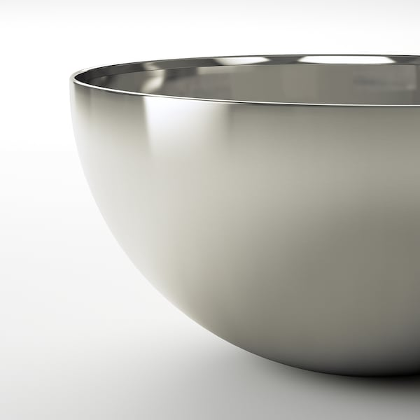 """BLANDA BLANK Serving bowl, stainless steel, 8 """""""
