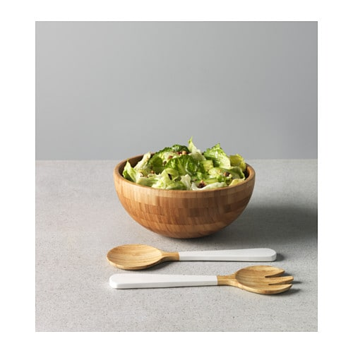 BLANDA MATT Serving bowl IKEA Made of bamboo, which is an easy-care and durable natural material.