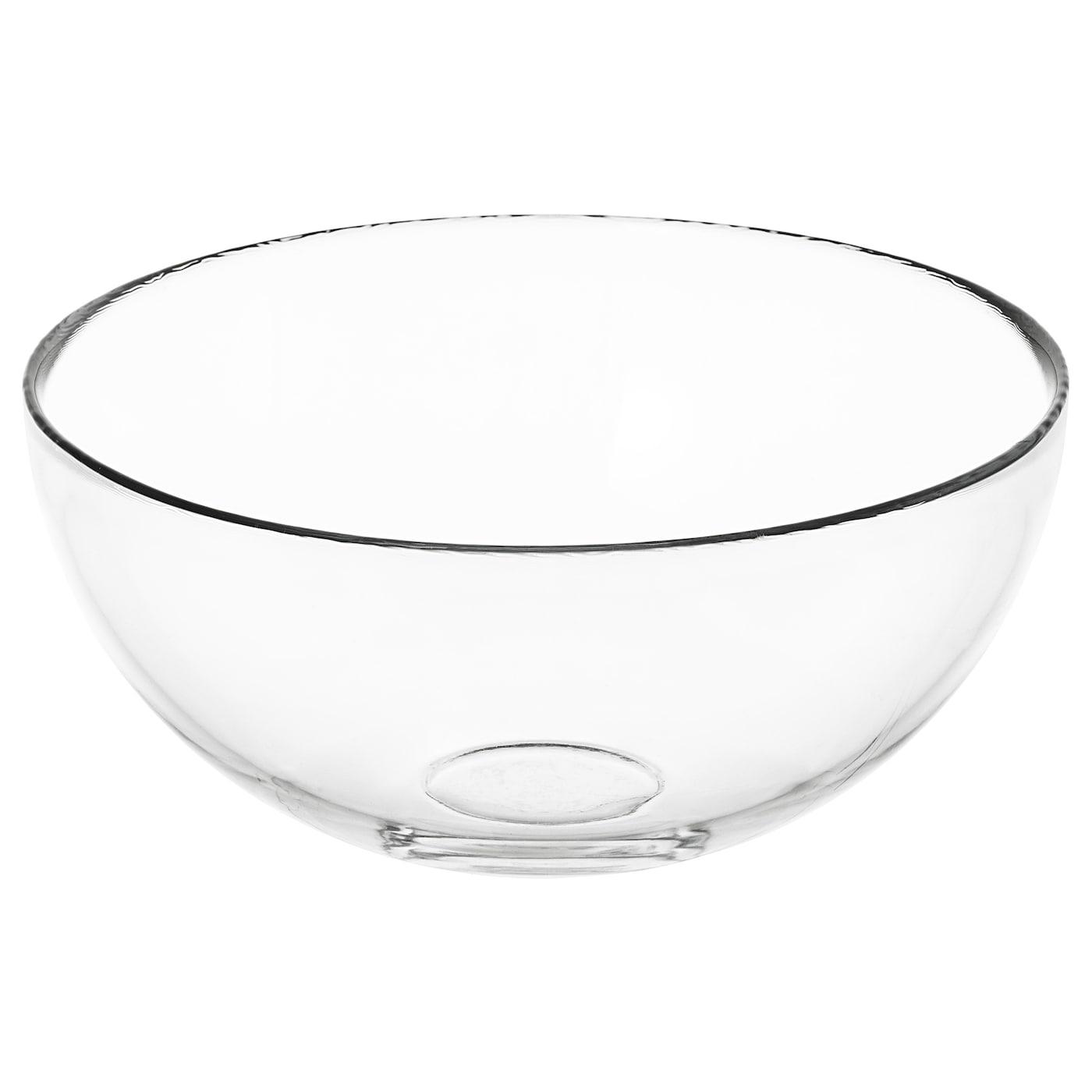 Blanda Serving Bowl Clear Gl Ikea