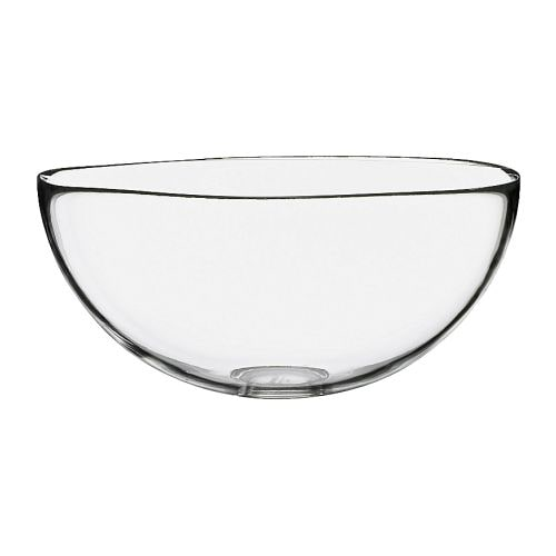BLANDA Serving bowl IKEA Space-saving when stored; small sizes can be stacked inside larger sizes in the same series.