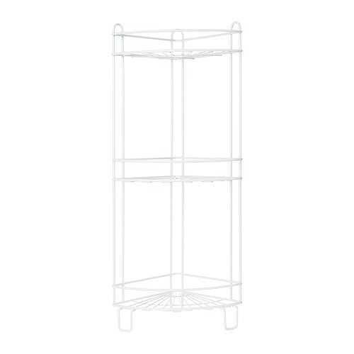BLANKEN Shower shelf IKEA Provides storage for shampoo and soap in the shower.