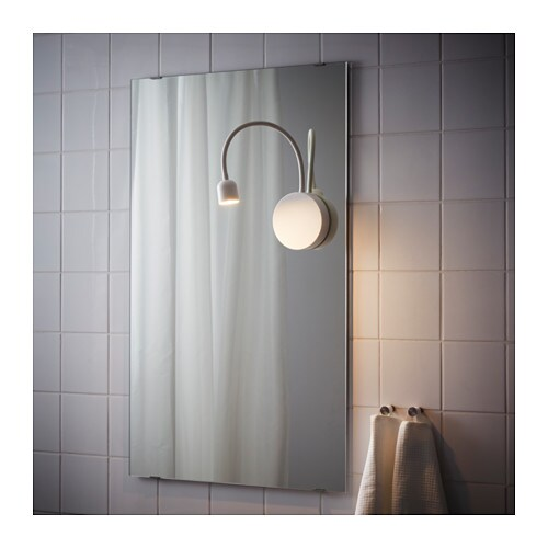 BLÅVIK LED wall lamp - battery operated white - IKEA