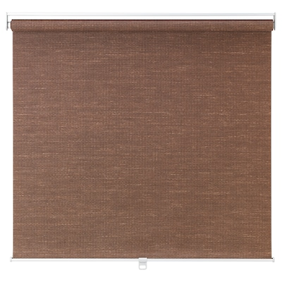 BLEKING Roller blind, red-brown, 26x76 ¾ ""